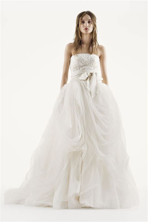 Vera Wang Davids Bridal Wedding Dresses Wedding Gowns