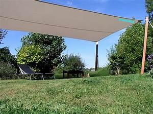 Voile D Ombrage Rectangulaire : voile d 39 ombrage impermeable rectangle 5m50 x 3m10 ~ Dailycaller-alerts.com Idées de Décoration