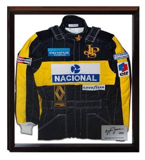 BNC Notícias: Réplica do macacão da 1ª vitória de Senna na ...
