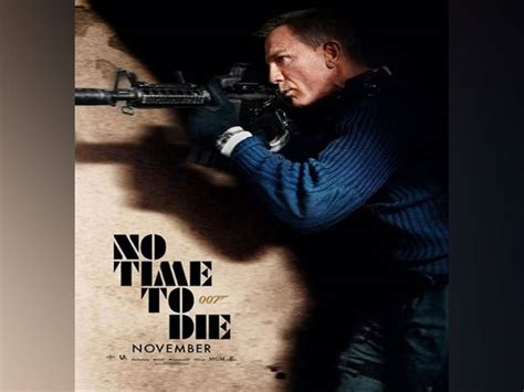 New 'No Time To Die' action poster