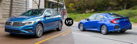 2019 Volkswagen Jetta Vs Honda Civic by 2019 Volkswagen Jetta Vs 2018 Honda Civic