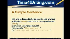 Simple  Compound  U0026 Complex Sentences Quiz