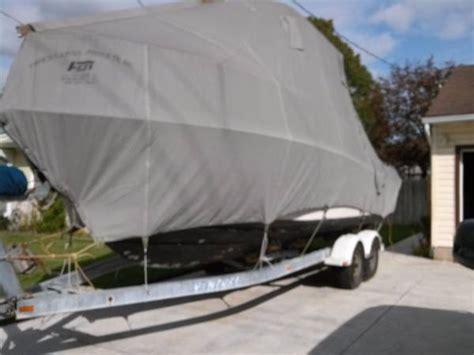 Grady White Gulfstream Boat Cover by Fisher Winter Storage Cover For Grady White 232 Gulfstream