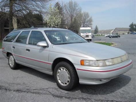 silver mercury table ls used 1992 mercury sable ls wagon for sale stock 13282