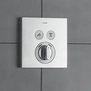 Unterputz Thermostat Dusche : hansgrohe showerselect mischer unterputz f r 2 verbraucher 15768000 reuter ~ Frokenaadalensverden.com Haus und Dekorationen