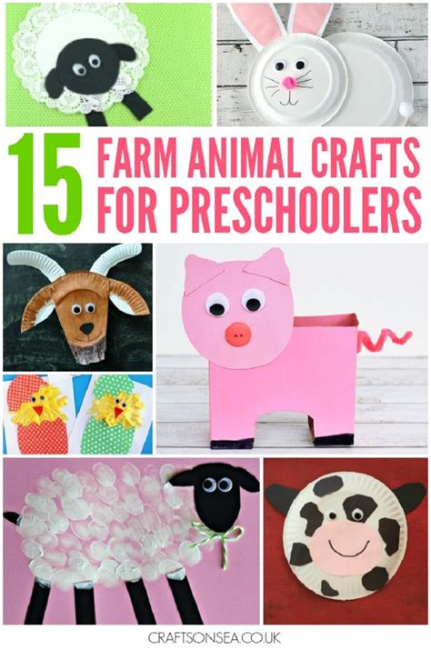 25 unique farm animal crafts ideas on farm 294 | fdbad15e2ef85c5878d8e55acd583bdb farm animal crafts kindergarten domestic animals preschool