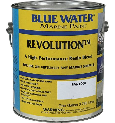 Bluewater Boat Paint by Revolution Quart By Blue Water Marine Paint