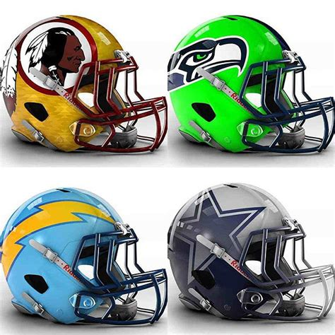 football helmet designer 32 futuristic nfl helmet concept designs that are 110
