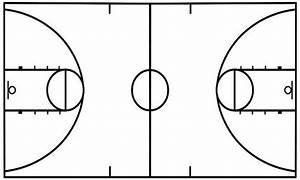 Basketball Diagram Template  U0026 Basketball Court Diagram