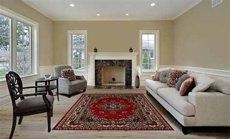 Carpet As Area Rug by Large Traditional 8x11 Area Rug Style