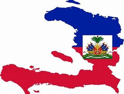 Haiti Flag Map Haitian Svg Oea Bandiera