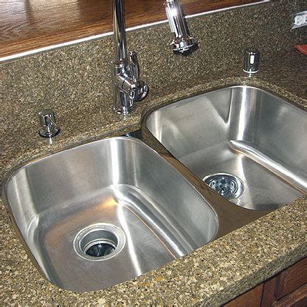 how to install undermount kitchen sink to granite undermount kitchen sinks review the kitchen blog