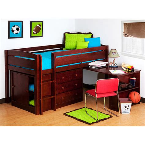 walmart bunk beds with desk childrens beds with desk and slide home decorating ideas