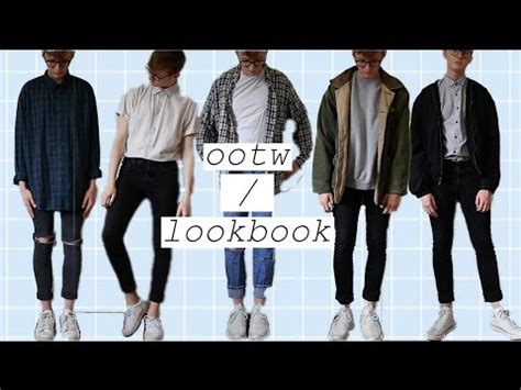 Thrift lookbook/outfits of the week (menu0026#39;s fashion) - YouTube