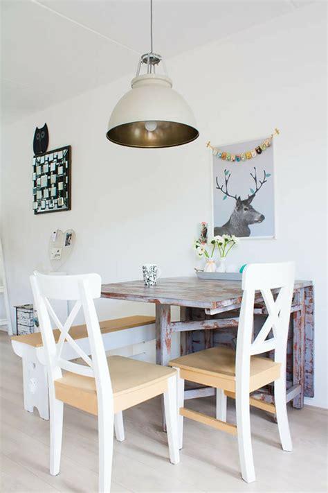 la table de cuisine la table de cuisine pliante 50 idées pour sauver d