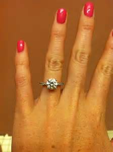 2 carat solitaire engagement ring absolutely engagement ring 2 5 carat with a pave band simple and classic