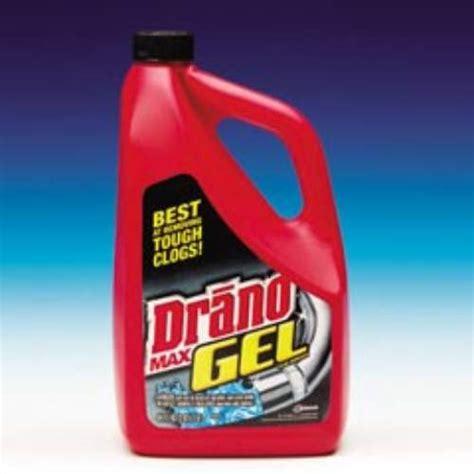 diversey drano max gel clog remover sku drkcb001190