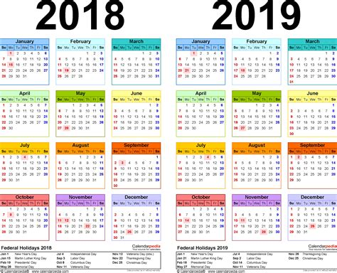 day of the year 2019 calendar