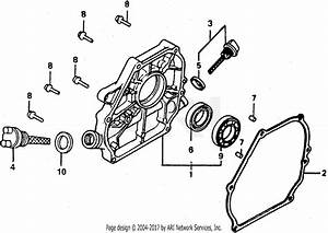 Honda Wt20x C Water Pump  Jpn  Vin  Gx140