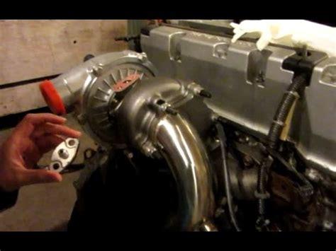 turbo rsx oil feed  youtube