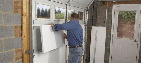 how to install garage door install garage insulation