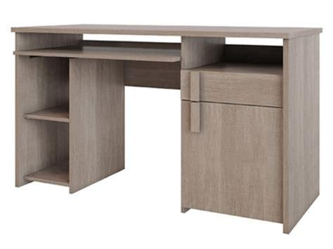 bureau basika bureau d 39 angle reversible pratico beton blanc brillant