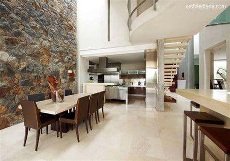 interior ruang tamu batu alam desain interior rumah