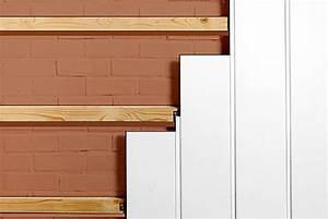 Pose De Lambris Bois : poser du lambris pvc les tapes suivre ~ Premium-room.com Idées de Décoration