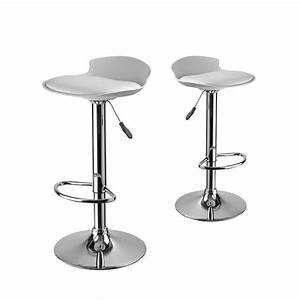 Lot De 2 Tabourets De Bar Design De Drawerfr