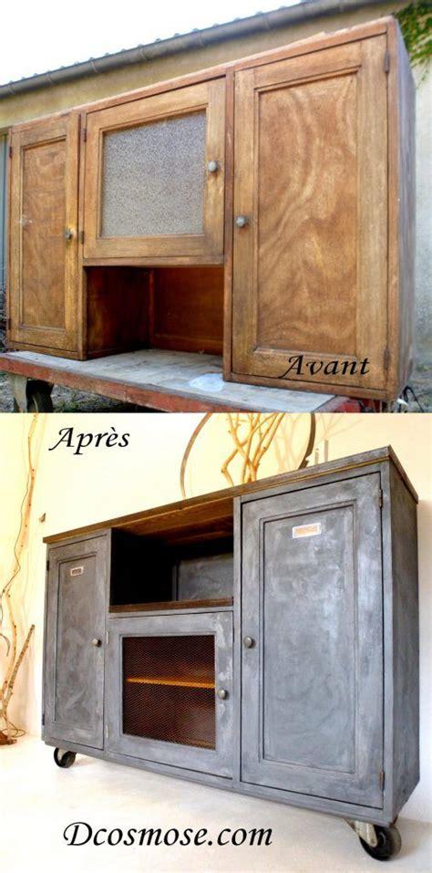 17 meilleures id 233 es 224 propos de bahut industriel sur renovation meuble meuble bahut