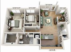 2 Bedroom House Plans Designs 3D luxury House Design Ideas