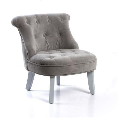 petit fauteuil pour chambre fauteuil crapaud pour enfant gris gris achat vente