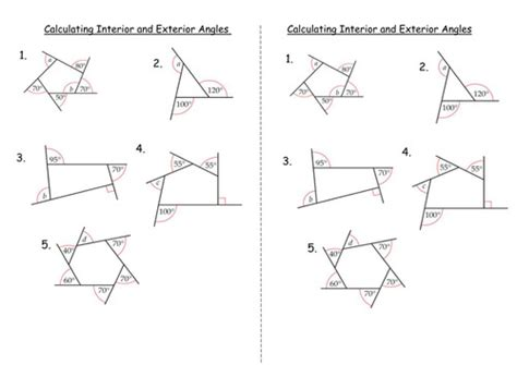 Finding Missing Angles Worksheet Homeschooldressagecom