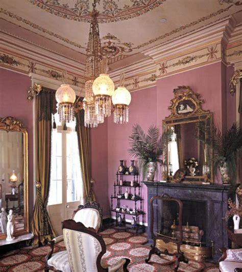 san francisco plantation house interiors  color