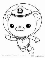 Octonauts Coloring Pages Barnacles Colouring Captain Gups Coloriage Colorier Octonaut Printable Print Birthday Des Peso Kwazii Party Gup Colorings Dessin sketch template