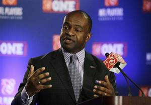 'We will never back down': NFL commissioner, players ...