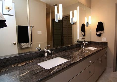viking black granite countertop contemporary bathroom by southwest marble
