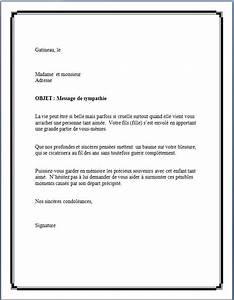 Lettre Deces : modele lettre gratuit pour condoleances document online ~ Gottalentnigeria.com Avis de Voitures
