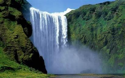 Waterfall Amazing Wallpapers Landscape Austrian Desicomments Comment