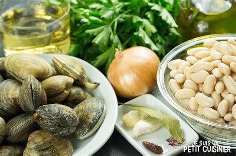 cuisiner les haricots blancs recette de haricots blancs aux palourdes jud 237 as blancas con almejas cuisine espagnole blogs