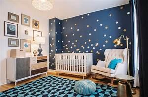 Chambre Bebe Etoile : la chambre de b b quelles couleurs et quels mat riaux ~ Teatrodelosmanantiales.com Idées de Décoration