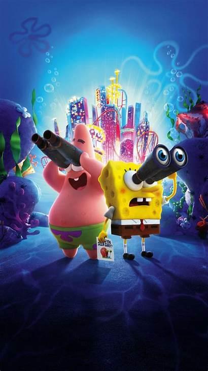 Spongebob Sponge Run Iphone Wallpapers Bob 8k