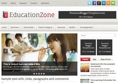 educationzone blogger template blogspot templates