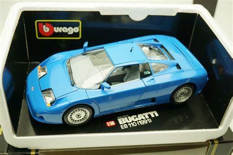 Bugatti type 57 sc atlantic (exk 6) test drive unlimited. 1:18 Bburago Bugatti Eb 110 Ñ Autoart Senna Veyron F1 ...