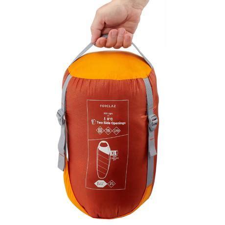 sac de couchage de trek   light orange quechua