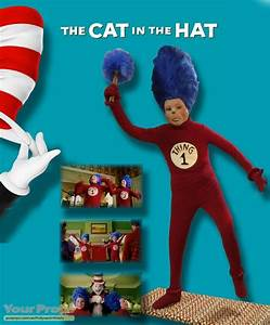 The Cat in the Hat Thing #1 Costume and Mask original ...