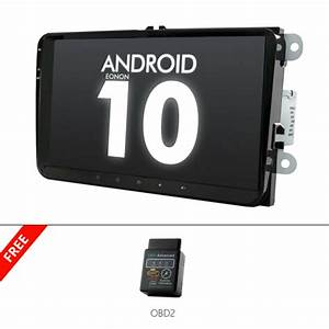 Obd2 Eonon 9 U0026quot Ips Android10 Car Stereo Gps For Vw Golf 5 Vi