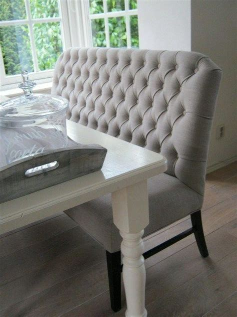 Kitchen Table Upholstered Bench by I Like The Idea Of Dining Benches With Backrests Would