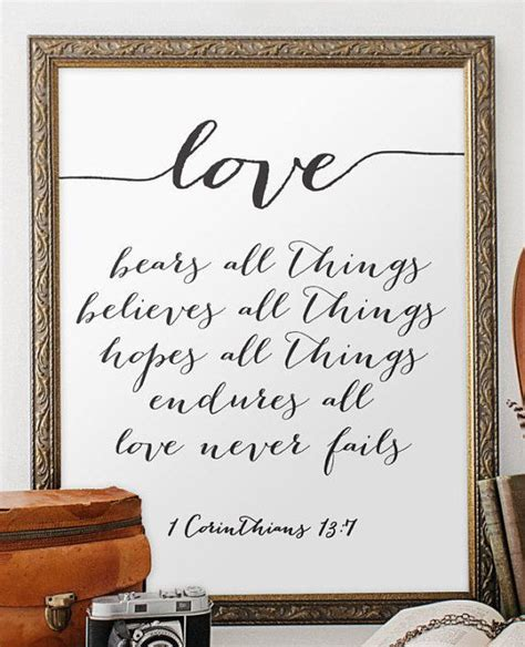 wedding quote from the bible verse print wall by twobrushesdesigns my old kentucky home