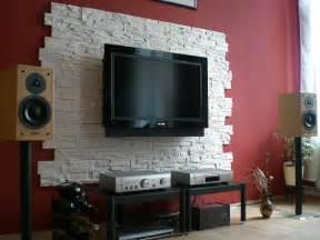 steinwand esszimmer funvit verblender wohnzimmer grau